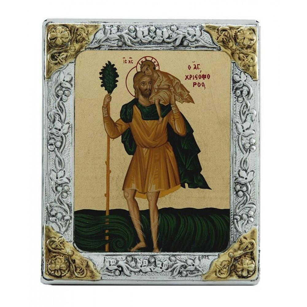 ΑΓΙΟΣ ΧΡΙΣΤΟΦΟΡΟΣ, 11 Χ 9 cm