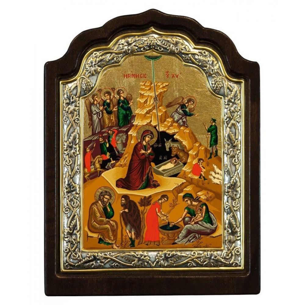 Η ΓΕΝΝΗΣΙΣ ΤΟΥ ΙΗΣΟΥ ΧΡΙΣΤΟΥ, 16 Χ 11 cm