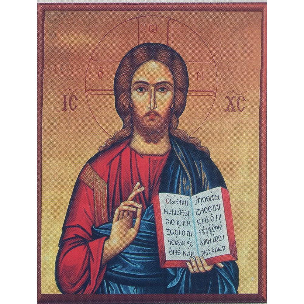 ΙΗΣΟΥΣ ΧΡΙΣΤΟΣ, ΕΙΚΟΝΑ 10Χ14 cm