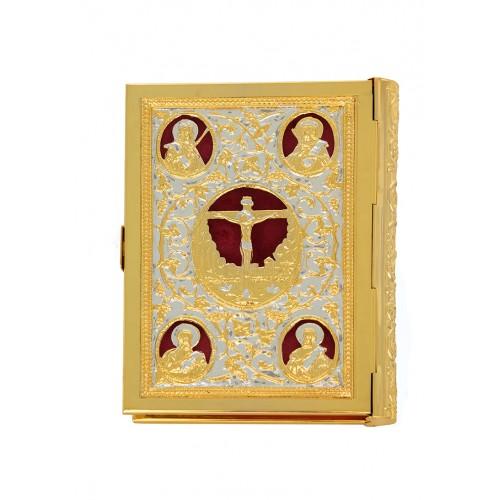 ΕΥΑΓΓΕΛΙΟ ΔΙΧΡΩΜΟ ΜΕΣΑΙΟ ΒΕΛΟΥΔΟ Α (102-25)