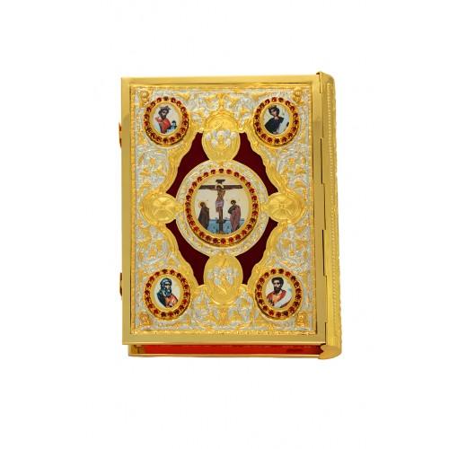 ΕΥΑΓΓΕΛΙΟ ΔΙΧΡΩΜΟ, ΜΠΑΚΛΑΒΩΤΟ ΒΕΛΟΥΔΟ Κ ΕΙΚΟΝΕΣ (102-91)
