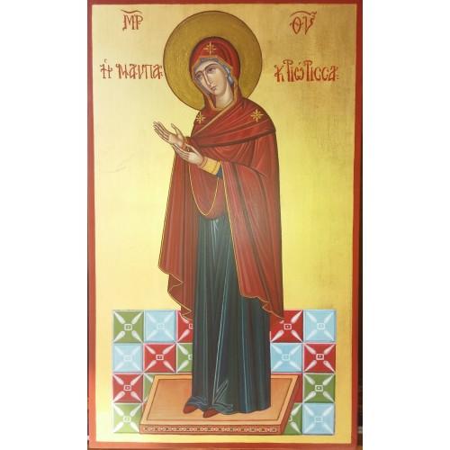 ΠΑΝΑΓΙΑ Η ΝΑΥΠΑΚΤΙΩΤΙΣΣΑ (Madonna di Lepanto), ΧΕΙΡΟΠΟΙΗΤΗ ΑΓΙΟΓΡΑΦΙΑ
